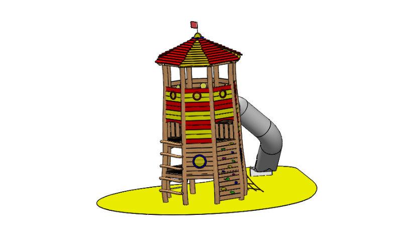 """Spielanlage """"Leuchtturm"""""""